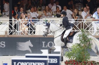 Bill Gates and his wife Melinda celebrate their daughter Jennifer on Luftikus S @Stefano Grasso/LGCT