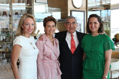 Princess Camilla of Bourbon, Celina Lafuente de Lavotha, Oscar Arias Sanchez, Mrs Arias Sanchez @Christine Wu