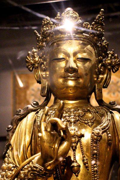 Bodhisattva, Ming Dynasty, Yongle period (1403-1424) @CelinaLafuentedeLavotha