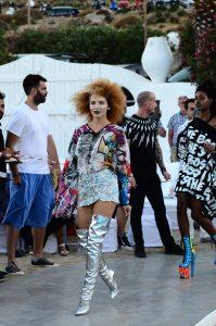 Models trotting the runway at JackieO'@Vivi Kaparou