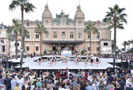 Monaco Palladienne folklore dancers in the Casino Square ©Charly Gallo - Manuel Vitali : Direction de la Communication