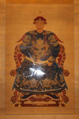 Portrait of Shang Kexi (m.1676), Qing Dynasty (1644-1911), Ancestors Temple @CelinaLafuentedeLavotha
