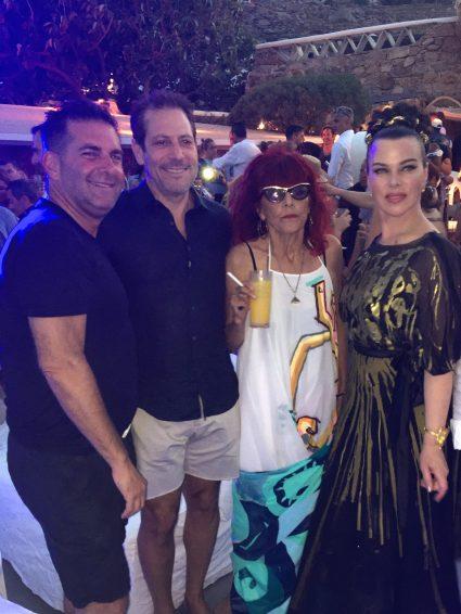 Stephen Brown, Darren Star, Patricia Field and Deborah Mazar @CelinaLafuentedeLavotha