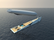 Dare to Dream super yacht and tender design (6) by George Lucian