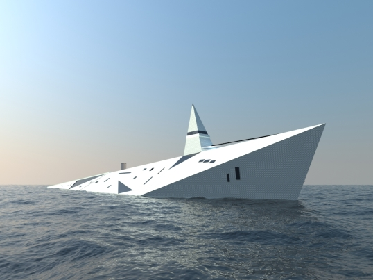 Dare to Dream super yacht design (5) by George Lucian