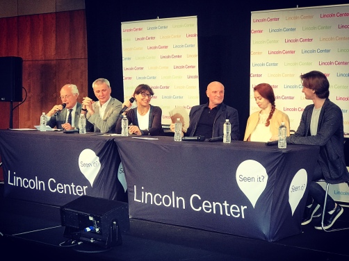 Press Conference - Nigel Redden (Lincoln Center), Makhar Vaziev, Katia Novikova, Jean-Christophe Maillot, Ekaterina Krysanova and Vladislav Lantratov @ DR
