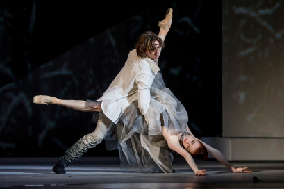 Ekaterina Krysanova and Vladislav Lantratov in the Taming of the Shrew with Bolshoi Theatre stars@Alice Blangero