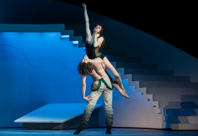 Ekaterina Krysanova and Vladislav Lantratov in The Taming of the Shrew with Bolshoi Theatre@Alice Blangero (2)