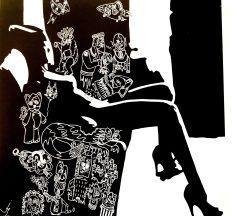 JURY PRIZE GemlucArt 2017 - Idees Noires by Julien Hayot, France @CelinaLafuentedeLavotha