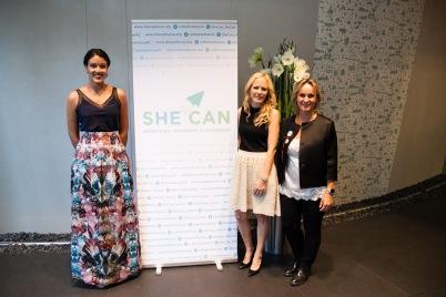 Kasey Robinson, Vibeke Brask Thomsen and Nathalie Amoratti-Blanc @Annette Linardatos