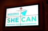 Launching of SHE CAN at Monaco National Council @CelinaLafuentedeLavotha