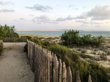 View of the Dune de Pilat from La Pointe in Cap Ferret @CelinaLafuentedeLavotha