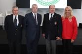 Jean-Marc Giraldi(SNM President), Duke of York, Prince Albert II and Judy Churchill (General Secretary OBM) ©EdWImages_OBPrincesCup_-119