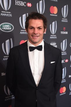 Richi McCaw former NZ All Black at World Rugby Awards 2017 in Monaco @Eamonn McCormack WR/WR via Getty Images