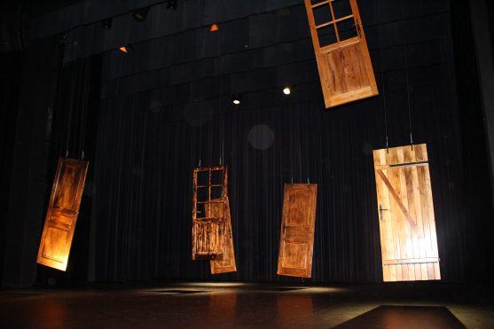Scenography at Theatre des Varietes in Monaco by Roxane Ducruet @CelinaLafuentedeLavotha