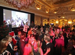 2017 Christmas Ball, Hermitage Hotel, Singer Mohambi performing at the Bal de Noel 2017@ Laurent Ciavaldini BdN2017