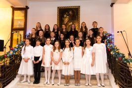 The Chrous of the International School of Monaco @Philippe Fitte