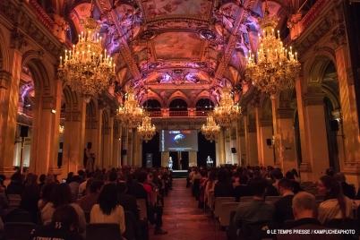 2018 LE TEMPS PRESSE Festival at the Town Hall in Paris @Le Temps Presse : Kampucheaphoto
