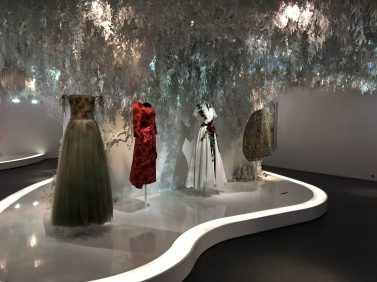 CD exhibition of robes @CelinaLafuentedeLavotha