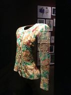 Embroidered jacket by YSL @CelinaLafuentedeLavotha