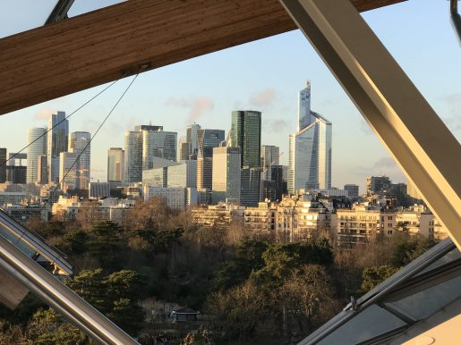 View of Paris, Fondation Louis Vuitton, architecture (2) @CelinaLafuentedeLavotha