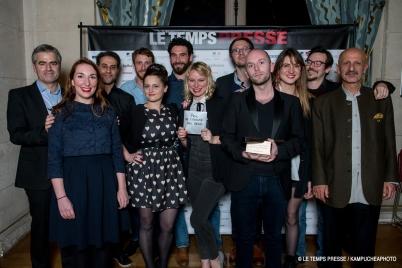 Gender Equality Prize, Bouge Pas by Viktor Milatic, 2018 LE TEMPS PRESSE @Le Temps Presse : Kampucheaphoto