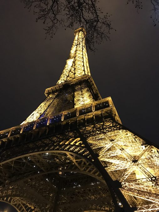 Majestic Eiffel Tower illuminated @CelinaLafuentedeLavotha