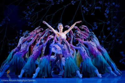 Marianna Barabas as the Lilac Fairy in Sleeping Beauty by Marcia Haydee with the Royal Swedish Ballet @Hans Nilsson