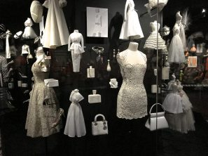 Miniature collection WHITE Christian Dior creations, dresses, bags, perfumes, jewels @CelinaLafuentedeLavotha