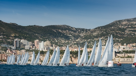 Monaco Sportsboat Winter Series regattas J:70 January 19-21, 2018@mesi_BD