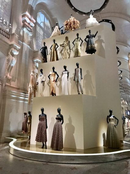 Selection of Christian Dior robes under different designers@CelinaLafuentedeLavotha