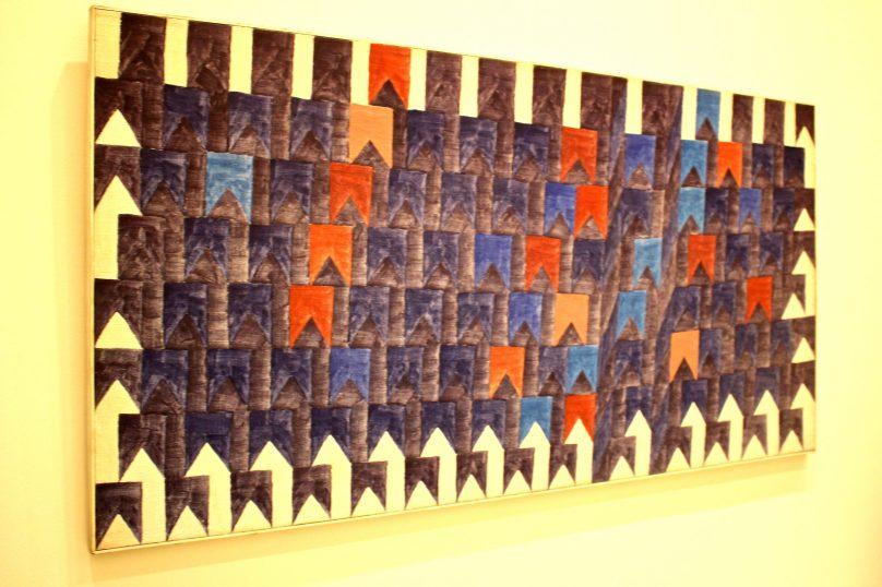 Alfredo Volpi, No title, 1960, Tempera on Canvas, Mastrobuono collection SP @CelinaLafuentedeLavotha