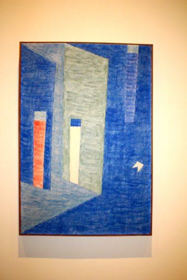Alfredo Volpi, No title, 1960's, Tempera on Canvas, Private collection SP @CelinaLafuentedeLavotha