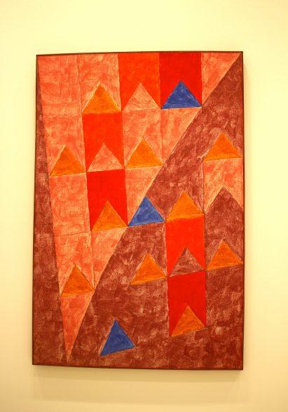 Alfredo Volpi, No title, 1970, Tempera on Canvas, Private collection SP @CelinaLafuentedeLavotha