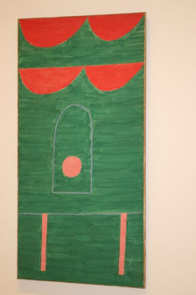 Alfredo Volpi, No title, ca. 1960, Tempera on Canvas, Mastrobuono Collection, SP @CelinaLafuentedeLavotha