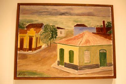Alfredo Volpi, No title, circa 1948, Tempera on canvas, Collection Mastrobuono, Sao Paulo @CelinaLafuentedeLavotha