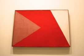 Alfredo Volpi, No title, end 1950's, Tempera on Canvas, Collection Marcos Ribeiro Simon, SP @CelinaLafuentedeLavotha