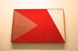 Alfredo Volpi, No title, end 1950's, Tempera on Canvas, Collection Marcos Ribeiro Simon, SP @CelinaLafuentedeLavotha