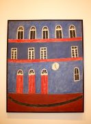 Alfredo Volpi, No title, mid 1950's, Tempera on Canvas, Mastrobuono Collection SP @CelinaLafuentedeLavotha