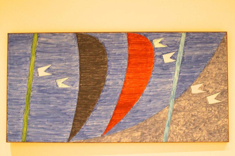 Alfredo Volpi, No title, mid 1970's, Tempera on Canvas, Private collection SP @CelinaLafuentedeLavotha.
