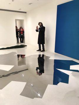 Cristiano Raimondi, exhibition curator, unveiling the Collection NMNM exhibition to the press @CelinaLafuentedeLavotha