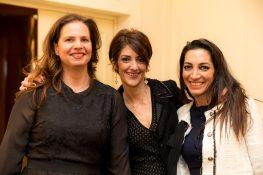 Heloise Garino, Emmanuelle Bouvet and Patricia Cressot Vandrebeck @Philippe Fitte