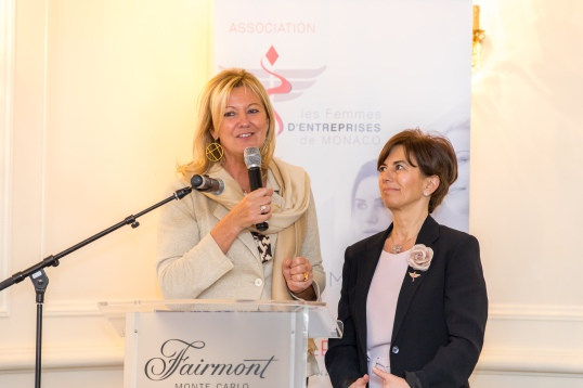Hilde Haneuse Heye and Caterina Reviglio Sonnino @Philippe Fitte