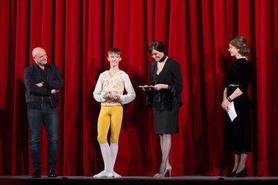 Jean-Christophe Maillot recognized with the Lifetime Achievement Award Prix de Lausanne 2018 @Gregory Batardon_50A5822