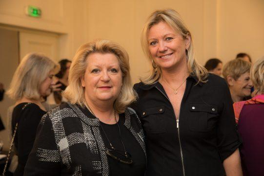 Joelle Baccialon with Hilde Haneuse Heye @Philippe Fitte