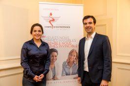 Olena Sullivan-Prykhodko JCE and Fabrice Marquet Monacotech @Philippe Fitte