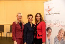 Sabine Holz-Strautmann, Celina Lafuente de Lavotha, Federica Nardoni Spinetta AFCEM @Philippe Fitte