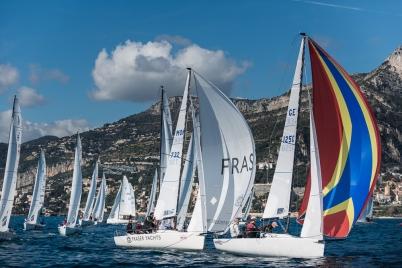 J/70 Monaco Sport Boat Winter Series 5th Act March 2018 (2)@mesi_BD