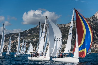 J/70 Monaco Sport Boat Winter Series 5th Act March 2018 (2)@mesi_BD