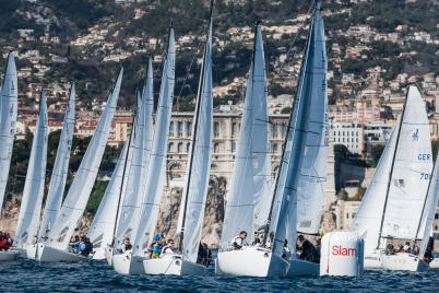 J/70 Monaco Sport Boat Winter Series 5th Act March 2018@mesi_BD